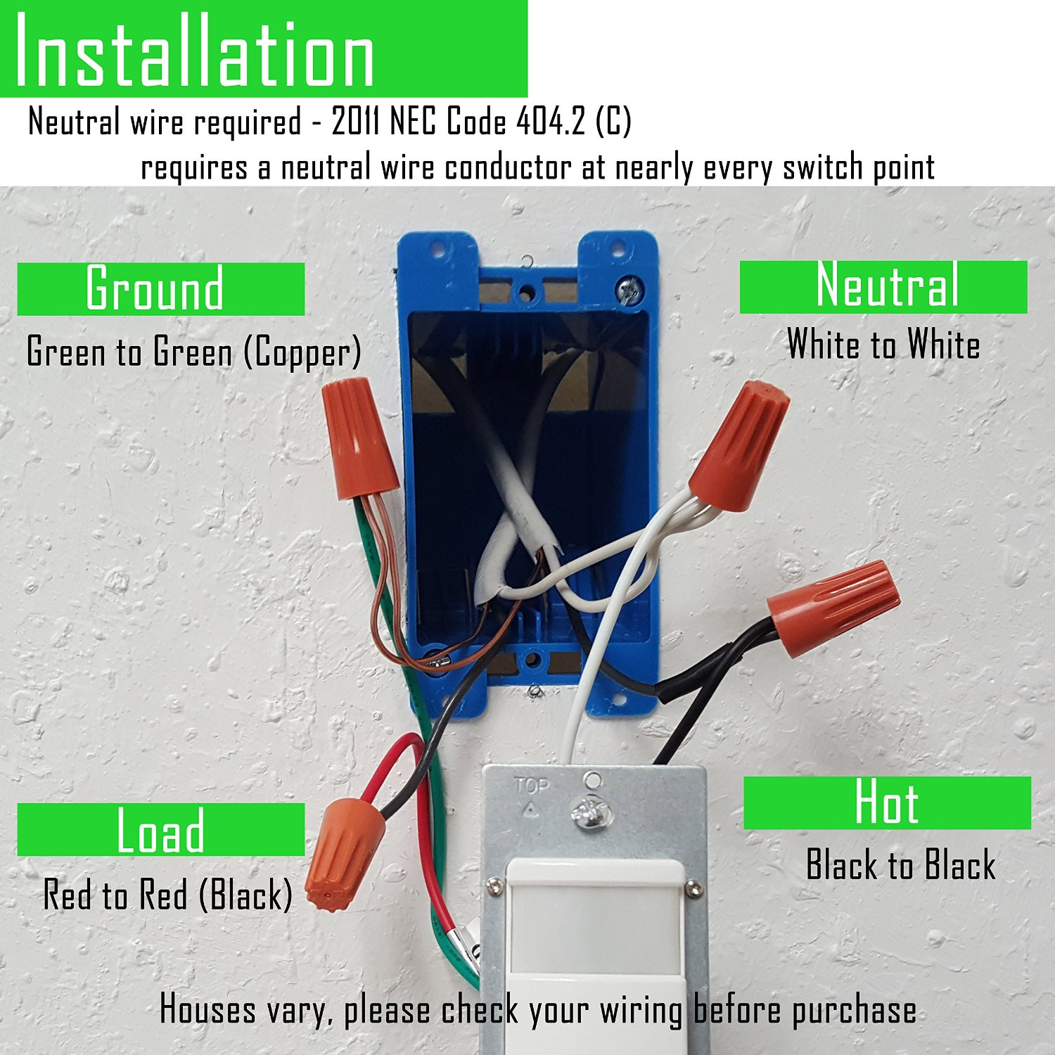 Buyers Wiring Switch Box Wire Center House Switched Outlet How To Choose The Right Motion Sensor Techsmart Home Com Rh Older Panel